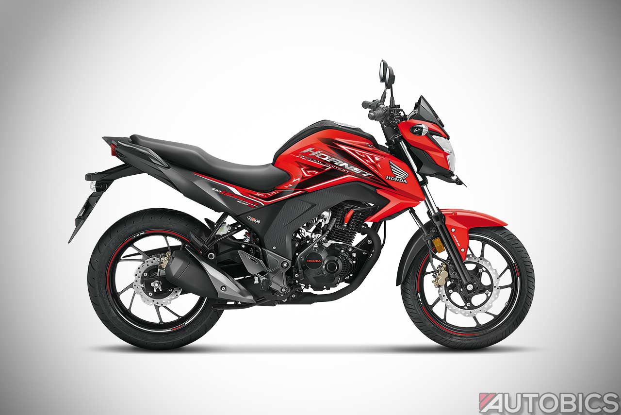 honda cb hornet 160r sports red 2018 autobics