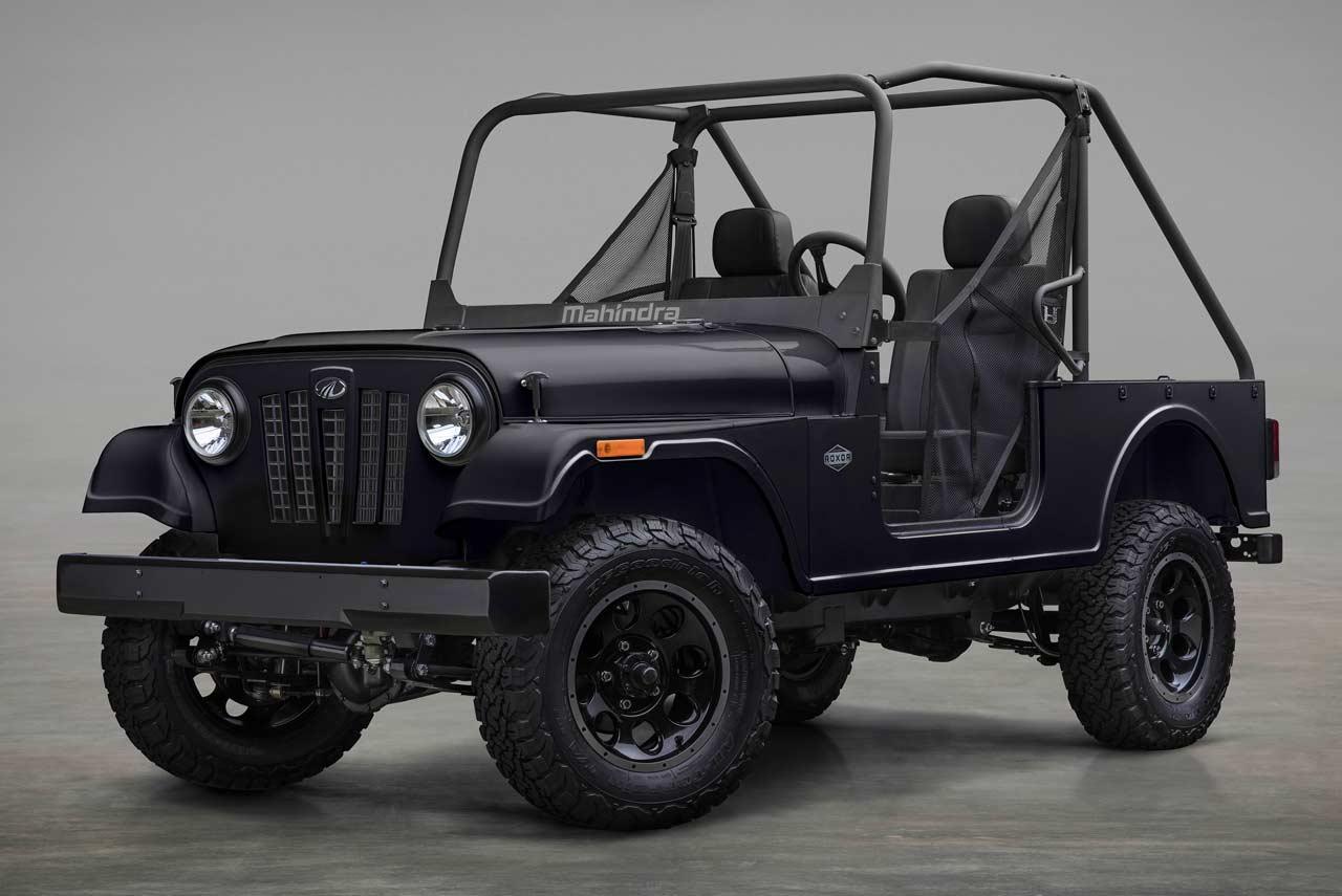 Mahindra ROXOR Carbon Black (1) | AUTOBICS