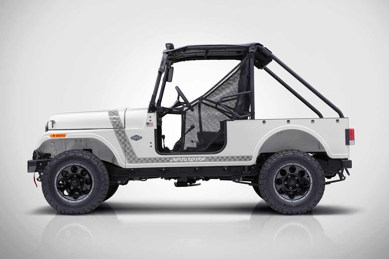 Mahindra Roxor Off Road Vehicle Unveiled In Usa Autobics