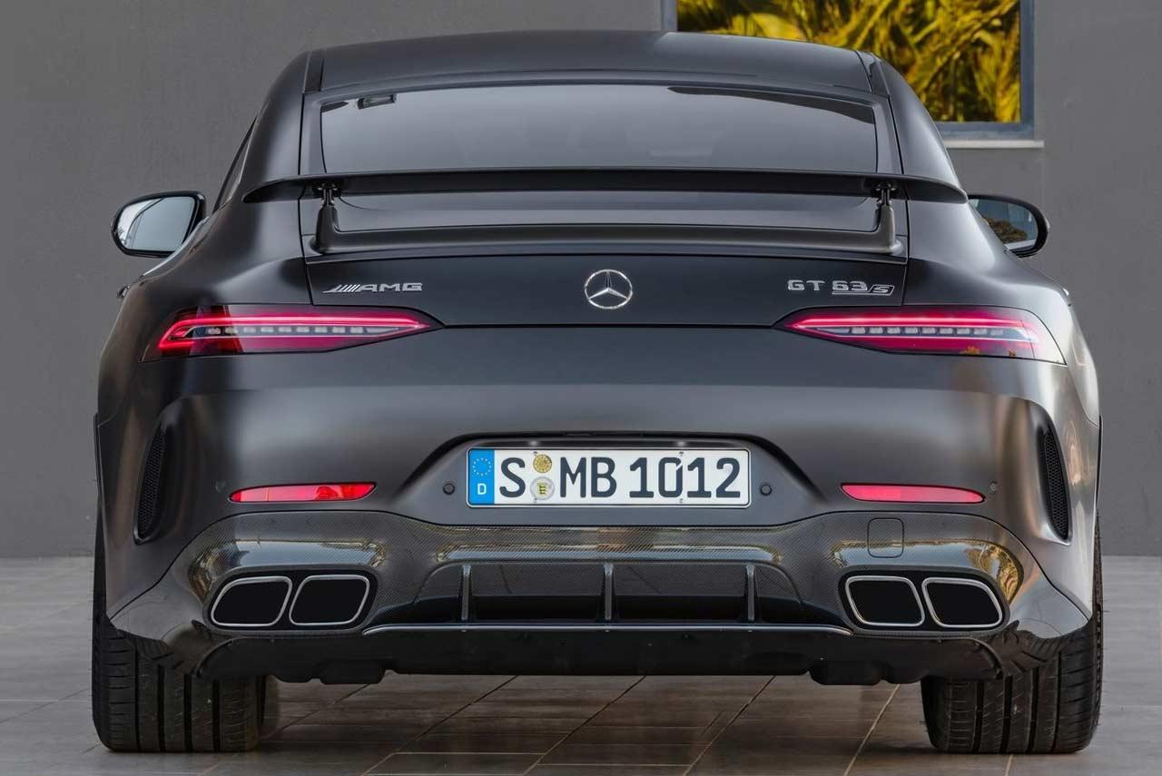 Mercedes-AMG GT 4-Door Coupe; Performance Meets ...