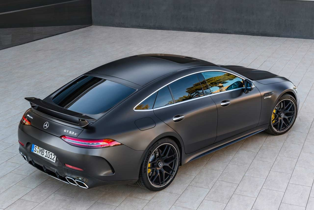 Mercedes Benz Amg Gt63 S 4 Door Rear Top Right Autobics