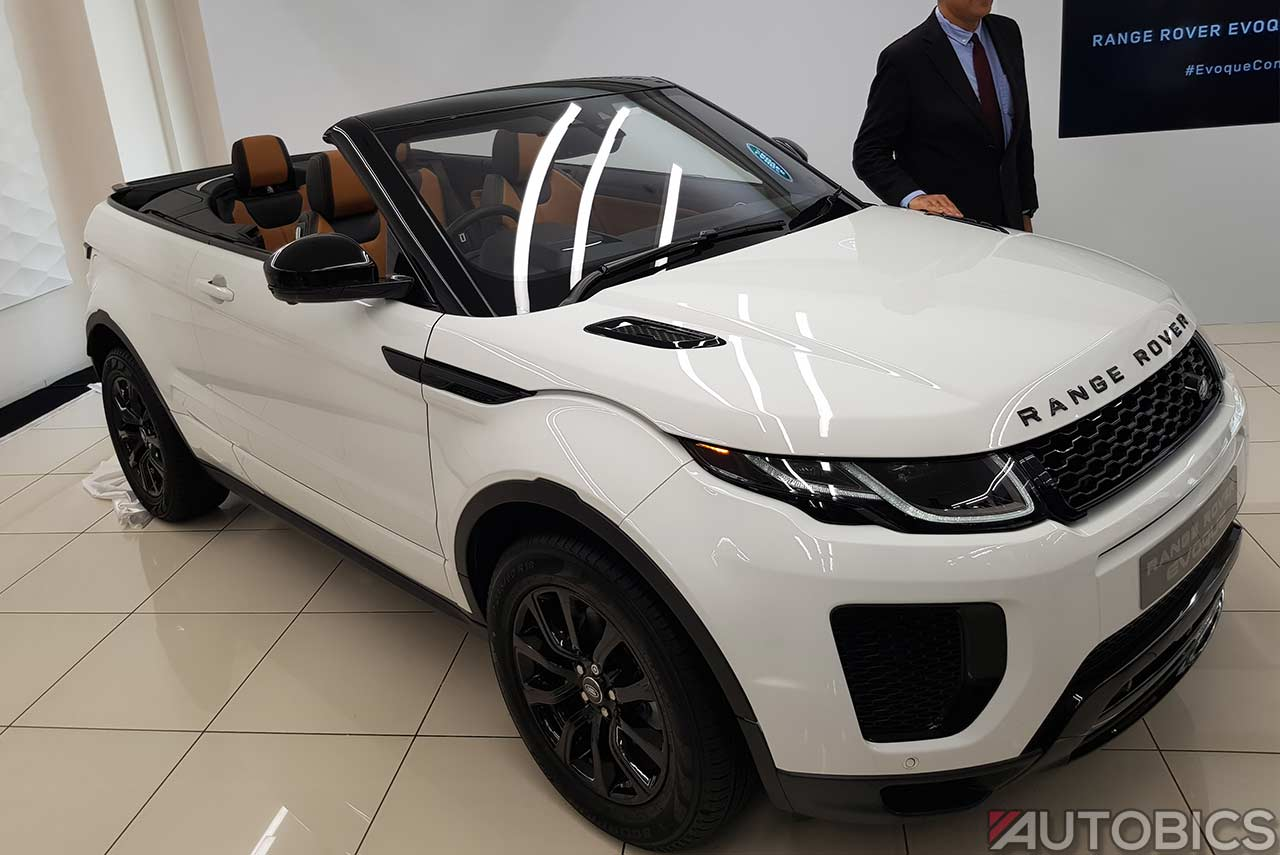 Range Rover Evoque Convertible India 2018 Autobics