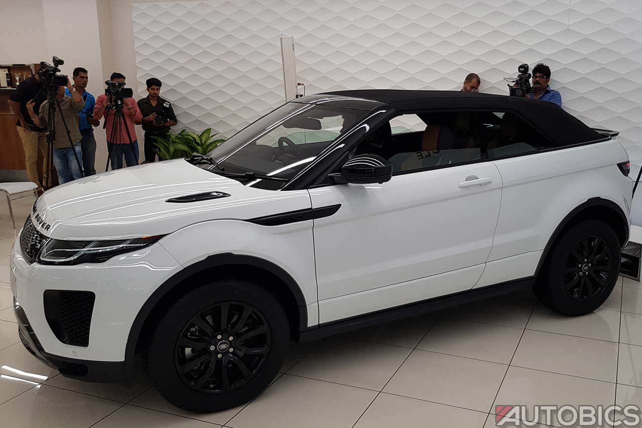2018 Range Rover Evoque Convertible Launched In India Autobics