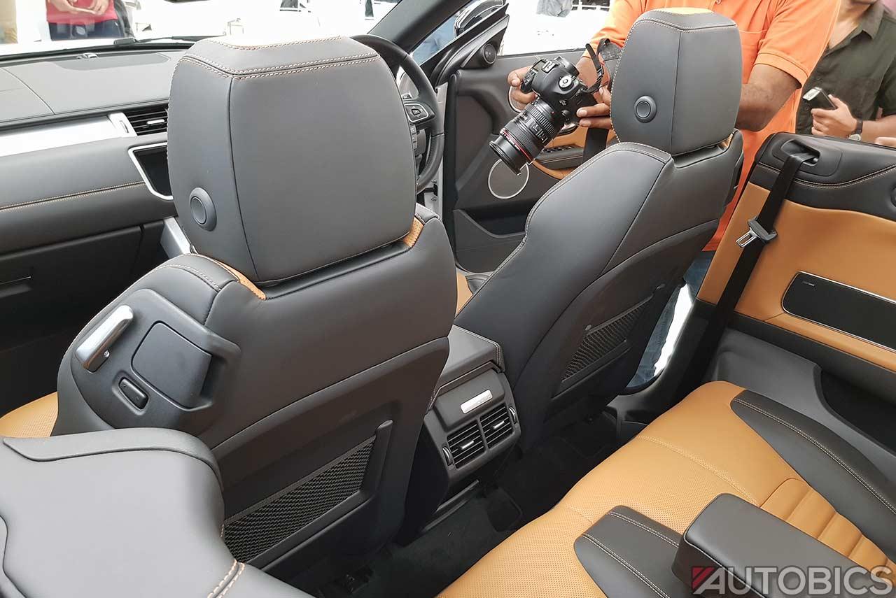F Type Price >> Range Rover Evoque Convertible Seat Rear 2018 | AUTOBICS