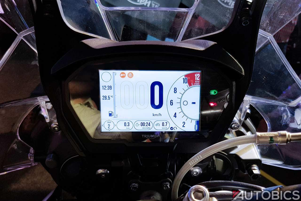 Triumph Tiger 800 Xcx Tft Display 2018 Autobics