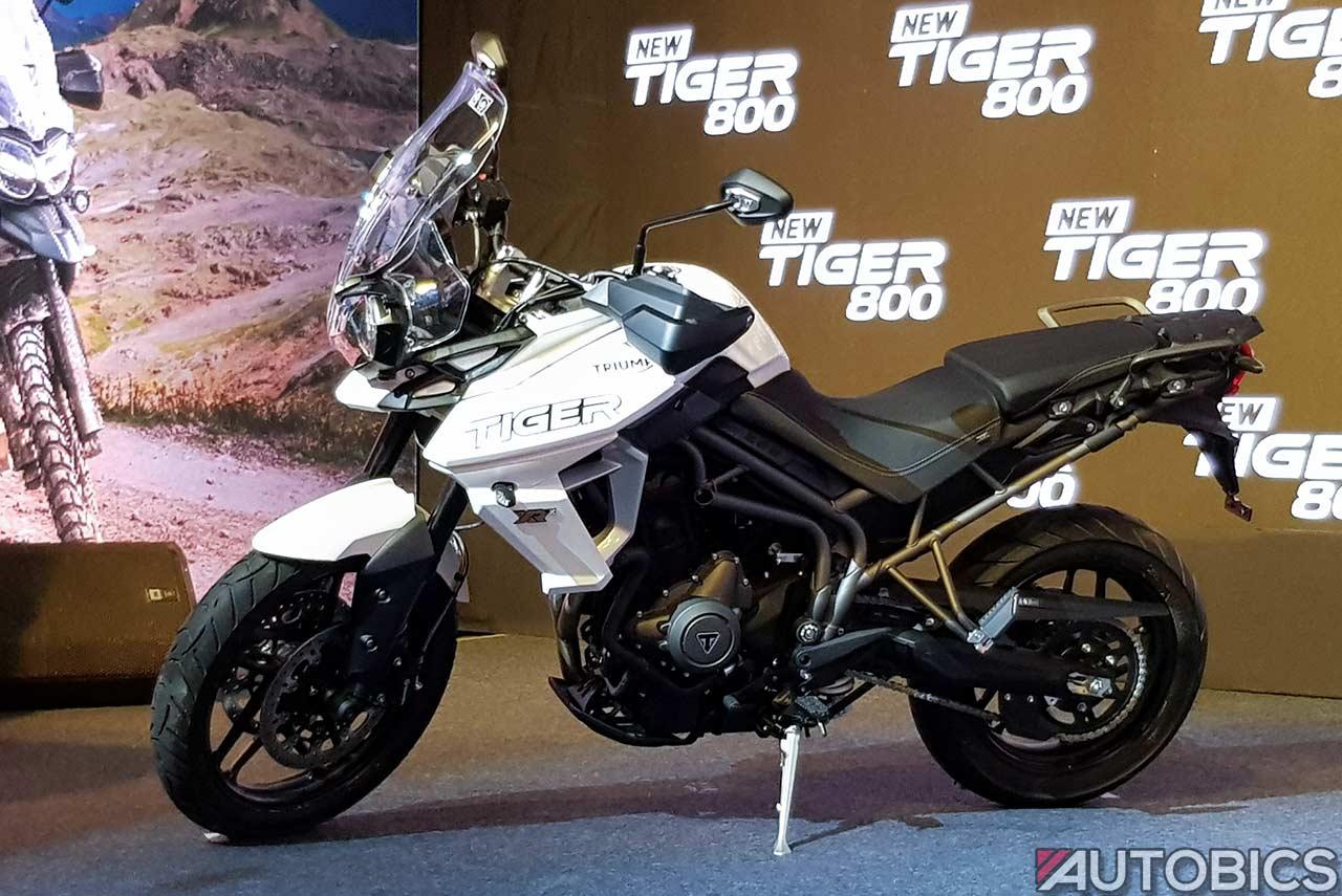 Triumph Tiger 800 Xrx White 2018 Autobics