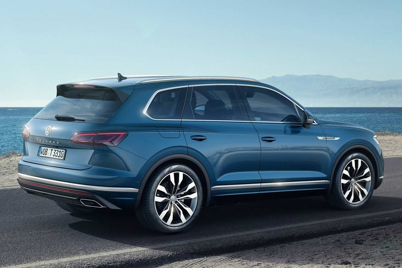 2019 Vw Touareg Unveiled Makes World Debut In China