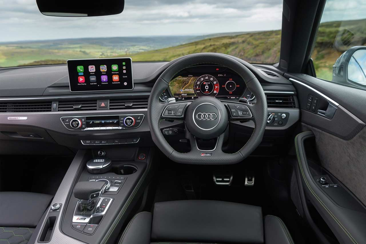 2018 Audi Rs5 Coupe Interior Autobics
