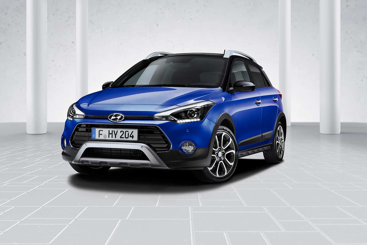 2018 hyundai i20 active for europe unveiled  comes with idle stop and go  u0026 hyundai smartsense