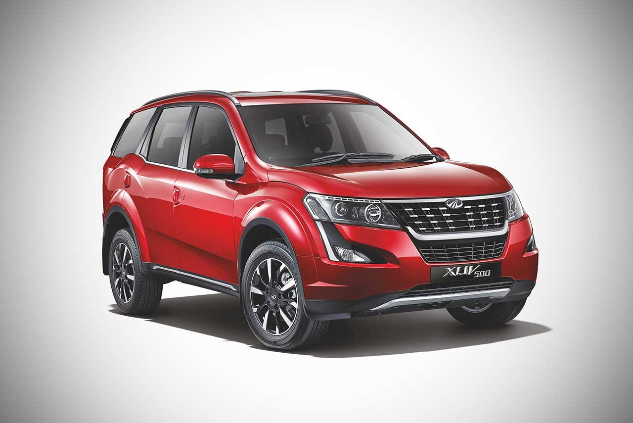 2018 Mahindra XUV500 facelift priced at INR 12.32 Lakh ...