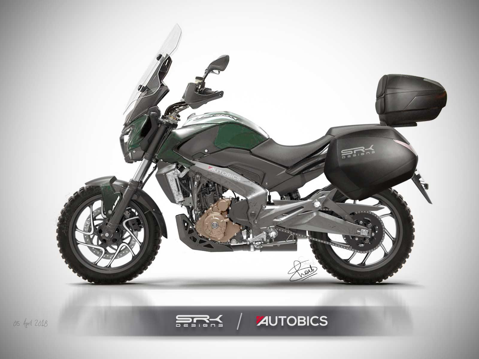 Bajaj Dominar 400 Adventure Edition Imagined Rendering
