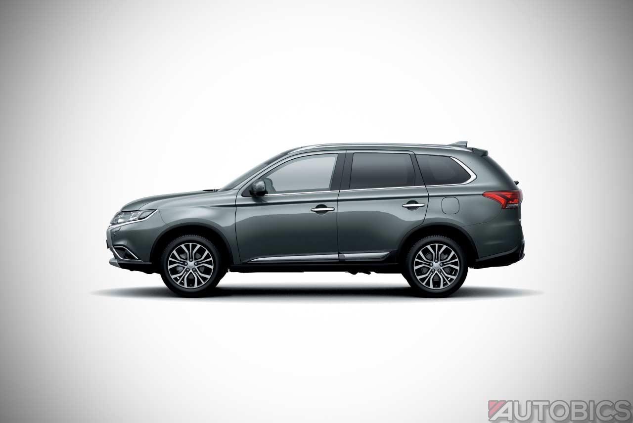 Mitsubishi Outlander Titanium Grey Autobics