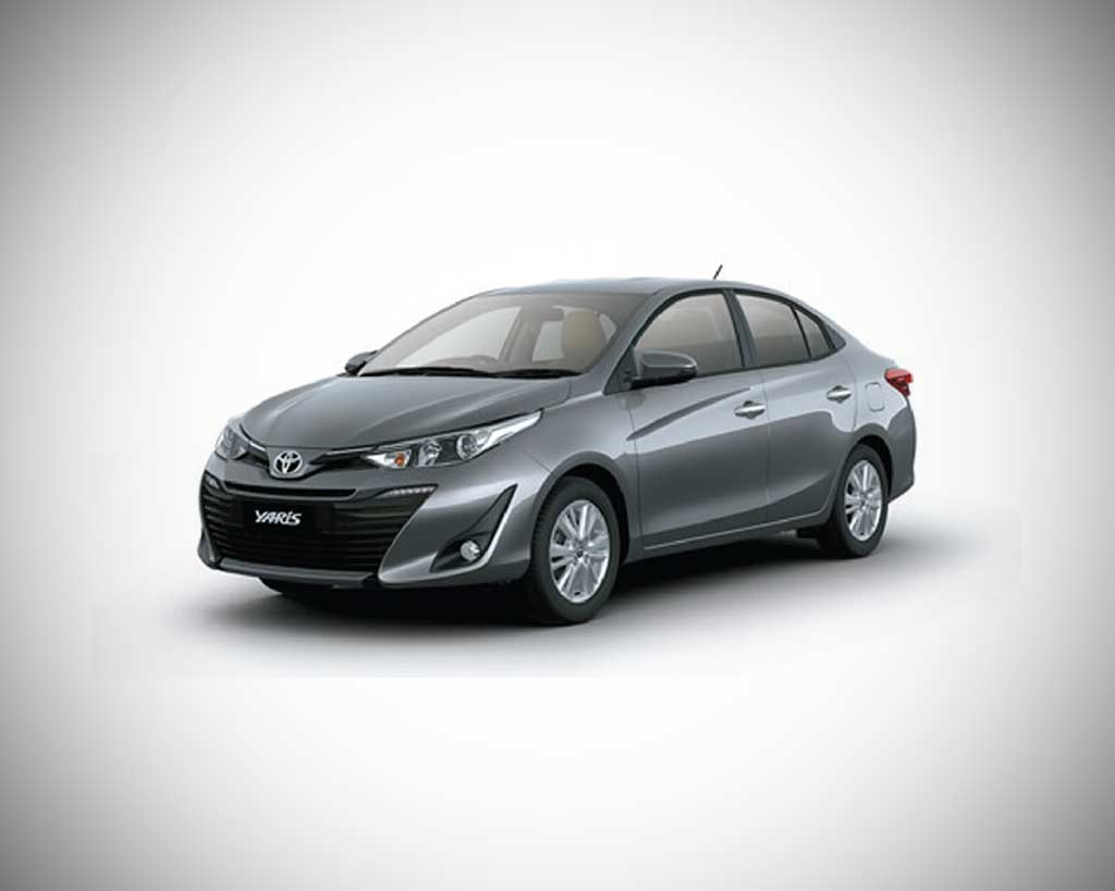 Toyota Yaris Grey Metallic 2018 Autobics