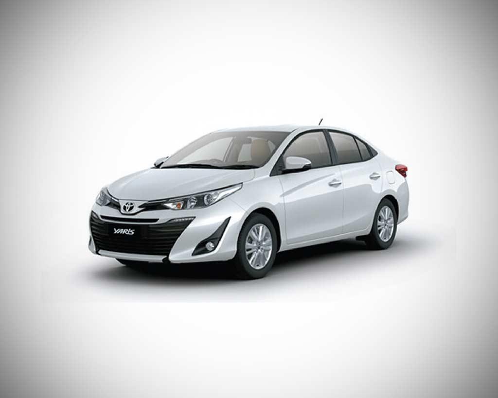 Toyota Yaris Pearl White 2018   AUTOBICS