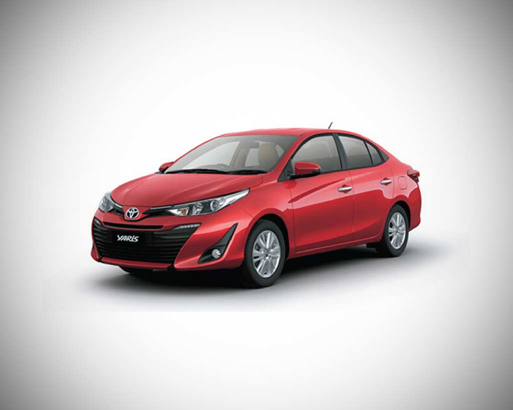 new toyota yaris officially launched in india deliveries begin autobics. Black Bedroom Furniture Sets. Home Design Ideas