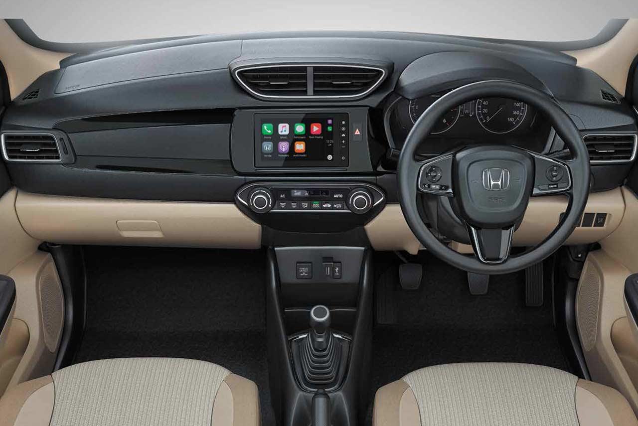 2018 Honda Amaze Dashboard Interior Autobics
