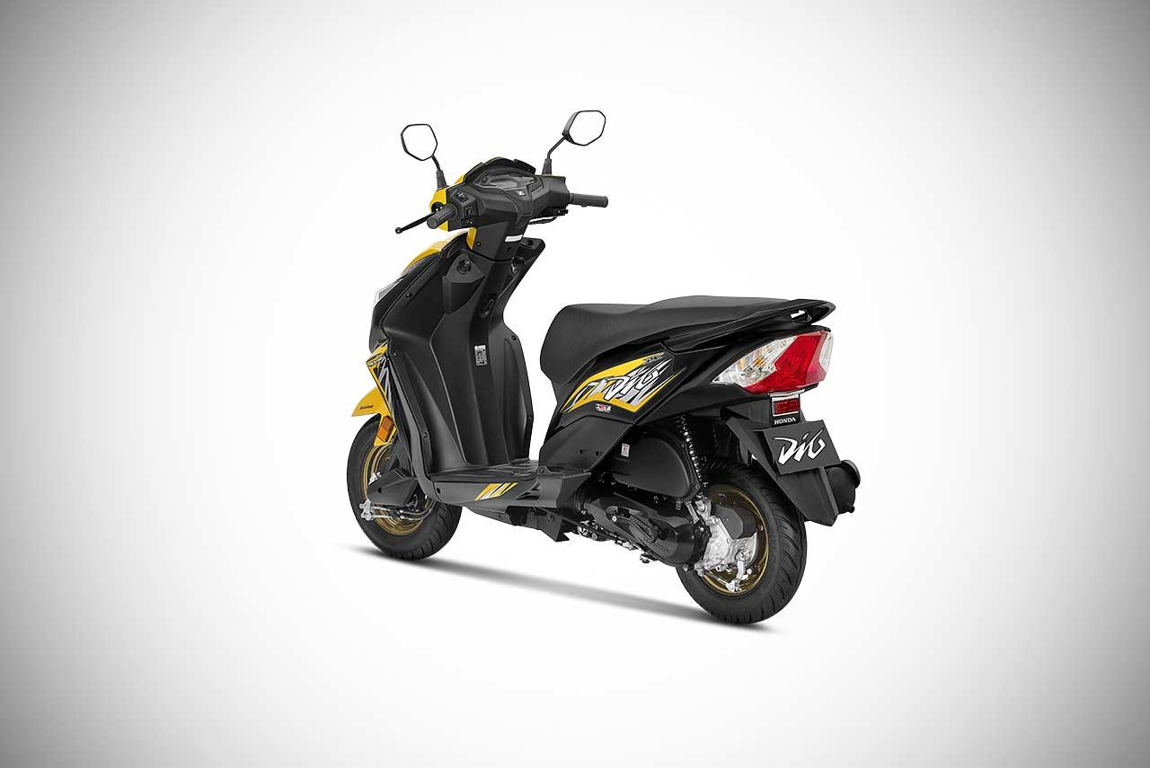Honda Dio Colours Available