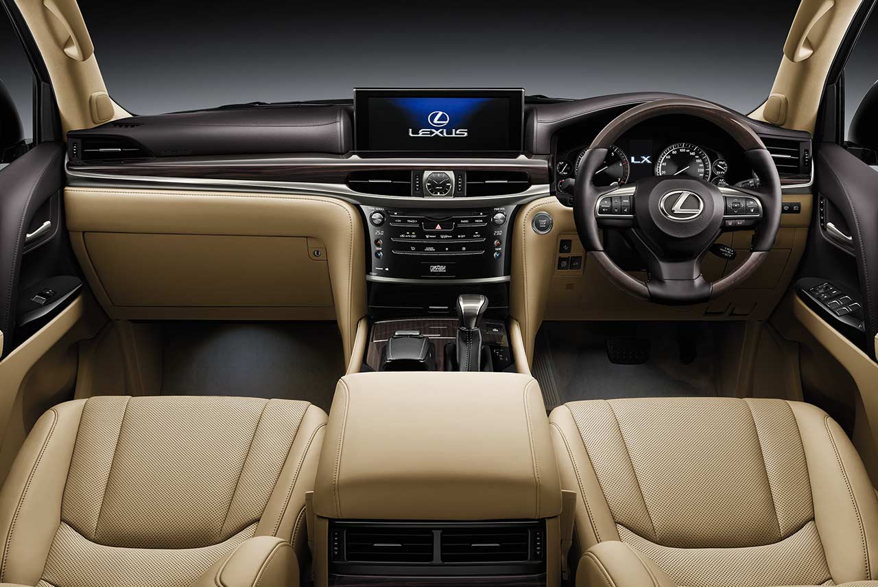 2018 Lexus Lx570 Interior Dashboard India Autobics