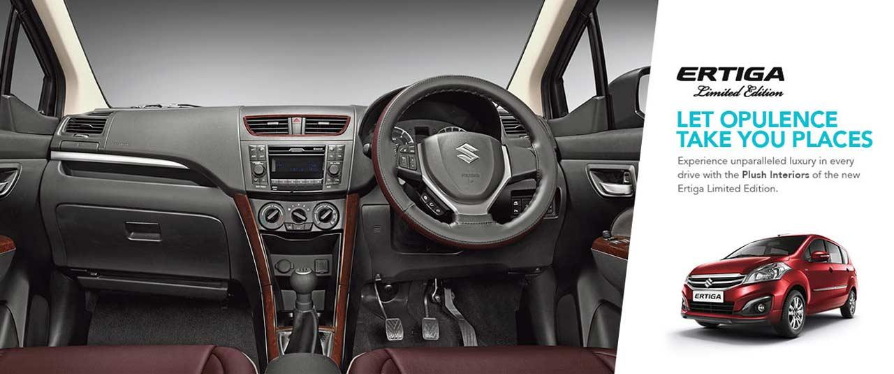 2018 Maruti Suzuki Ertiga Limited Edition Interiors Autobics