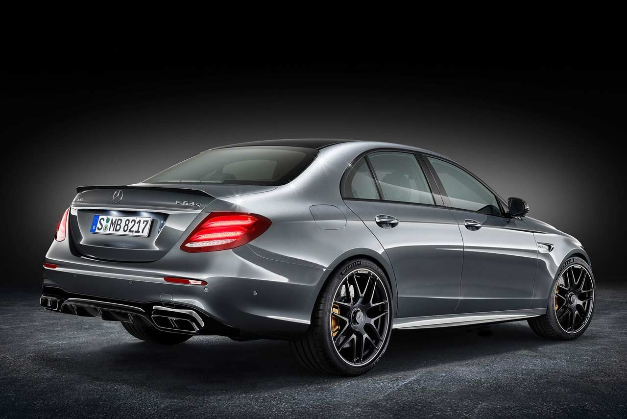 2018 Mercedes Amg E63 S 4matic Rear Quarter