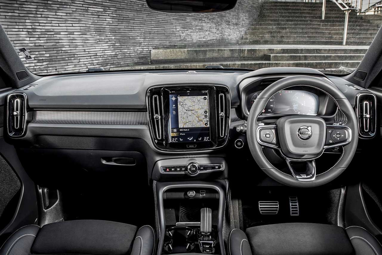 2018 Volvo Xc40 Interior Dashboard Autobics