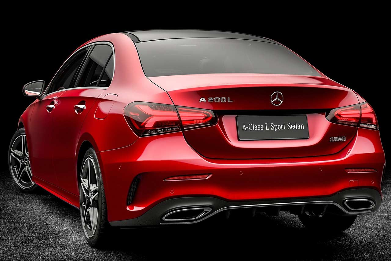 2019 mercedes benz a class l sedan is exclusively for. Black Bedroom Furniture Sets. Home Design Ideas