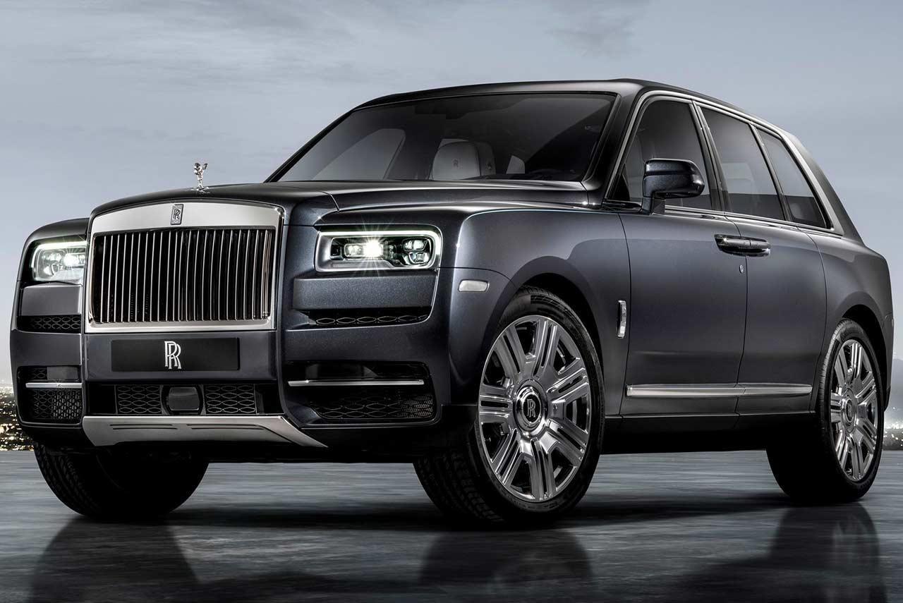 2019 Rolls Royce Cullinan Suv Front Quarter Autobics