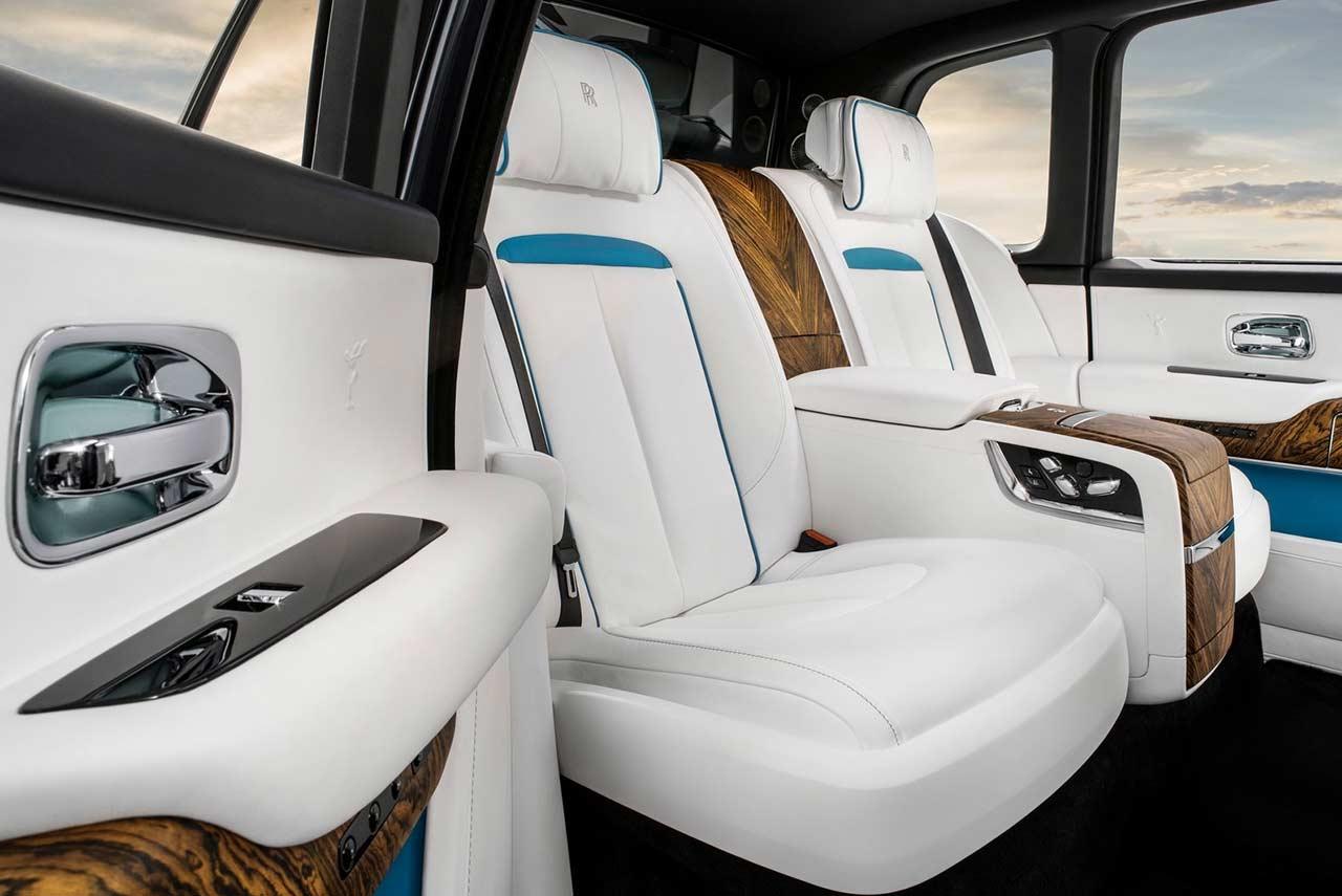 2019 Rolls-Royce Cullinan SUV Rear Seats