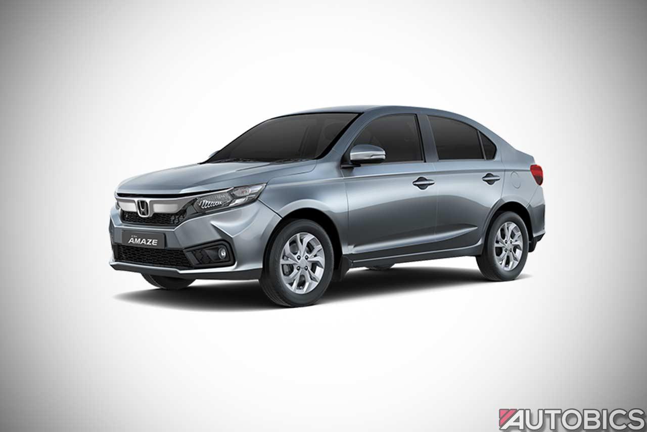 Honda Amaze Lunar Silver 2018 Autobics