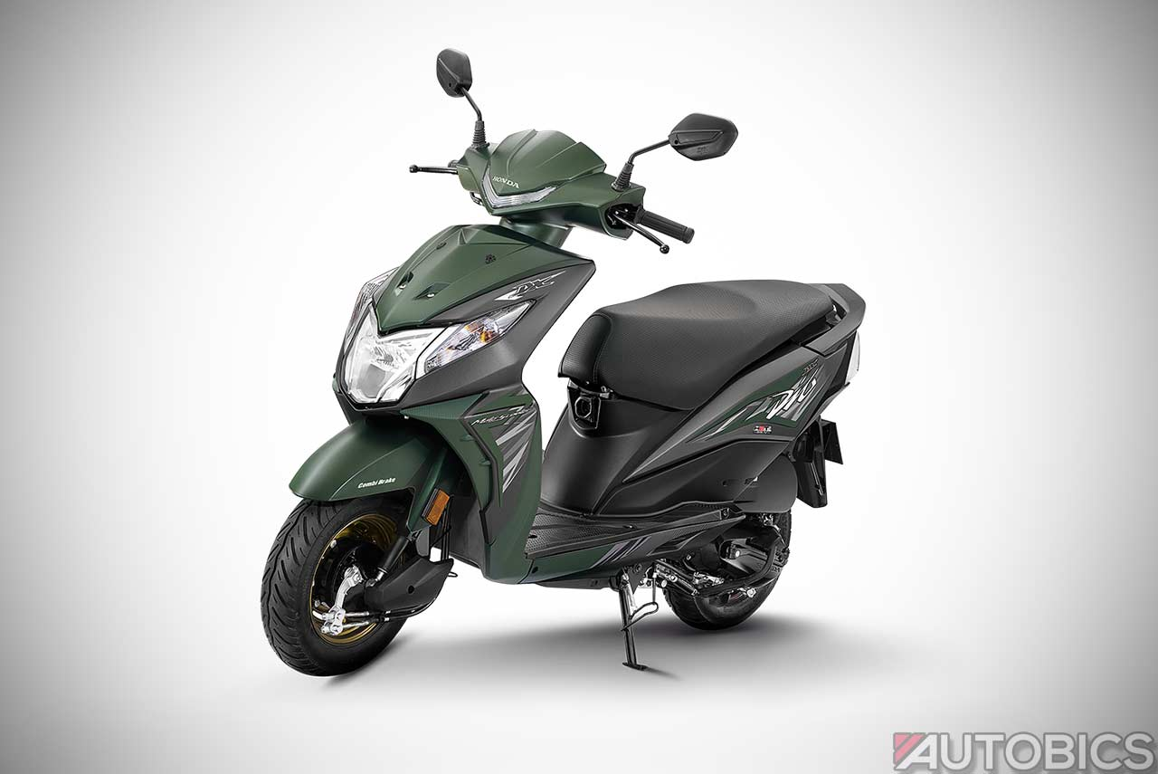 Honda Dio Deluxe launched in India; Priced at INR 53,292 ...