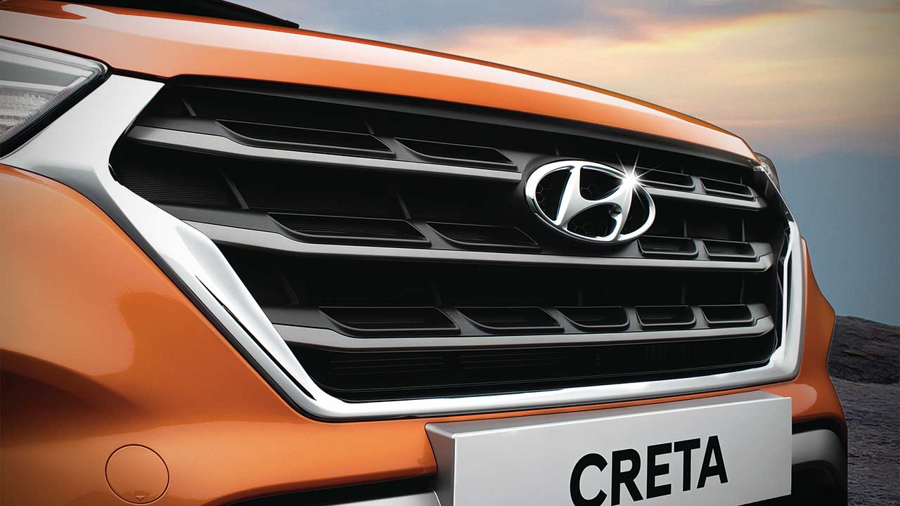 Hyundai Creta Front Grille 2018 Autobics