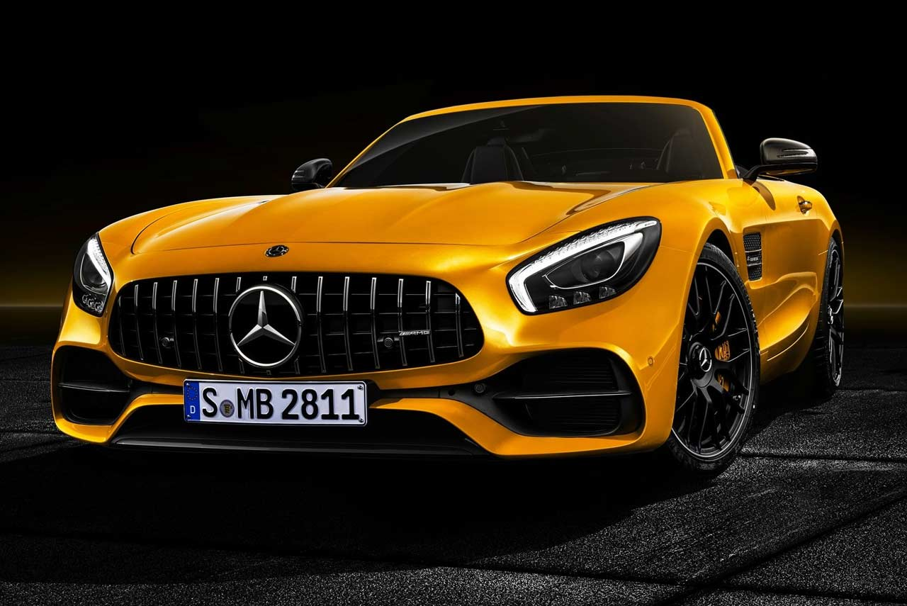 2019 mercedes amg gt s roadster unveiled autobics. Black Bedroom Furniture Sets. Home Design Ideas