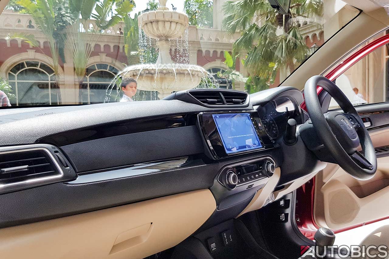 New Honda Amaze Interior Dashboard 2018 Autobics