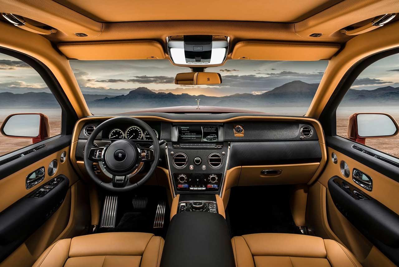 Rolls Royce Cullinan Suv Interior 2019 Autobics