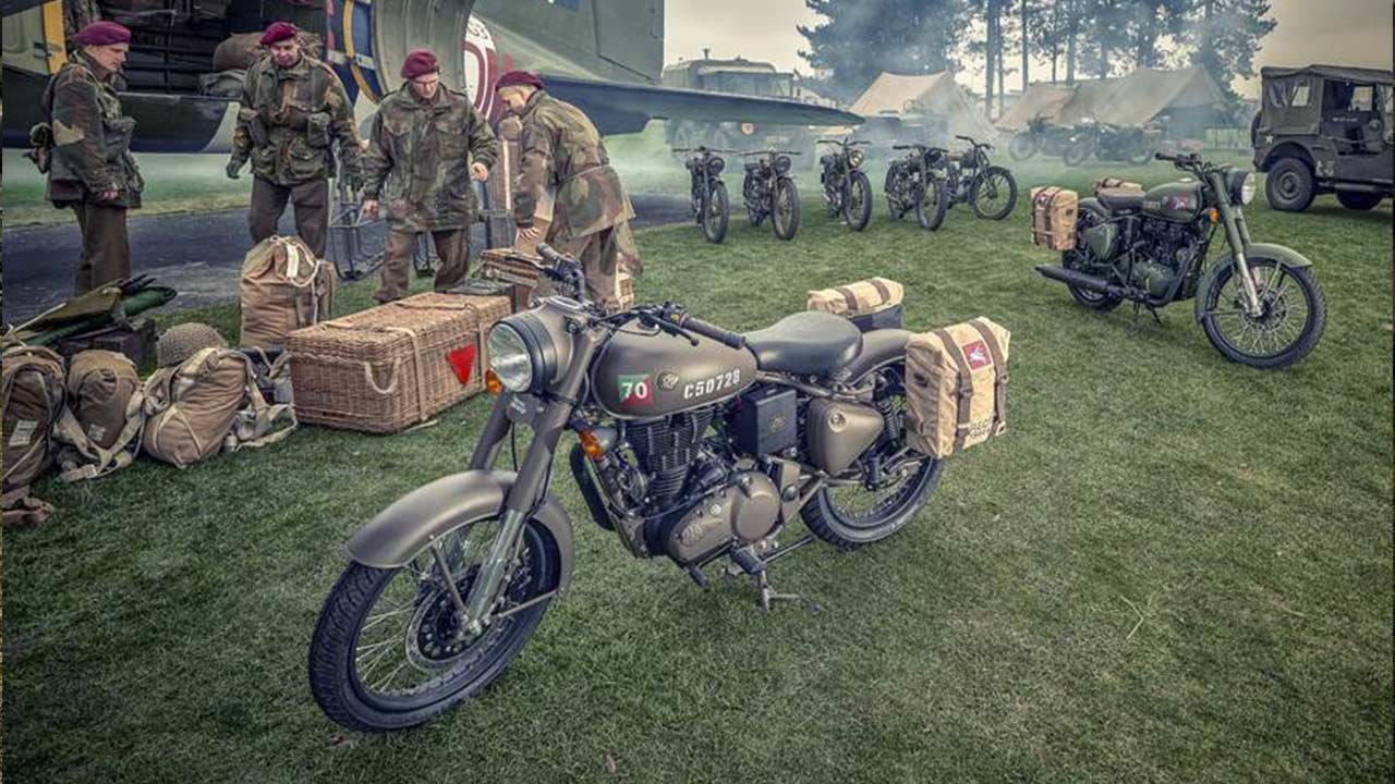 Royal Enfield Classic 500 Pegasus Edition Introduced