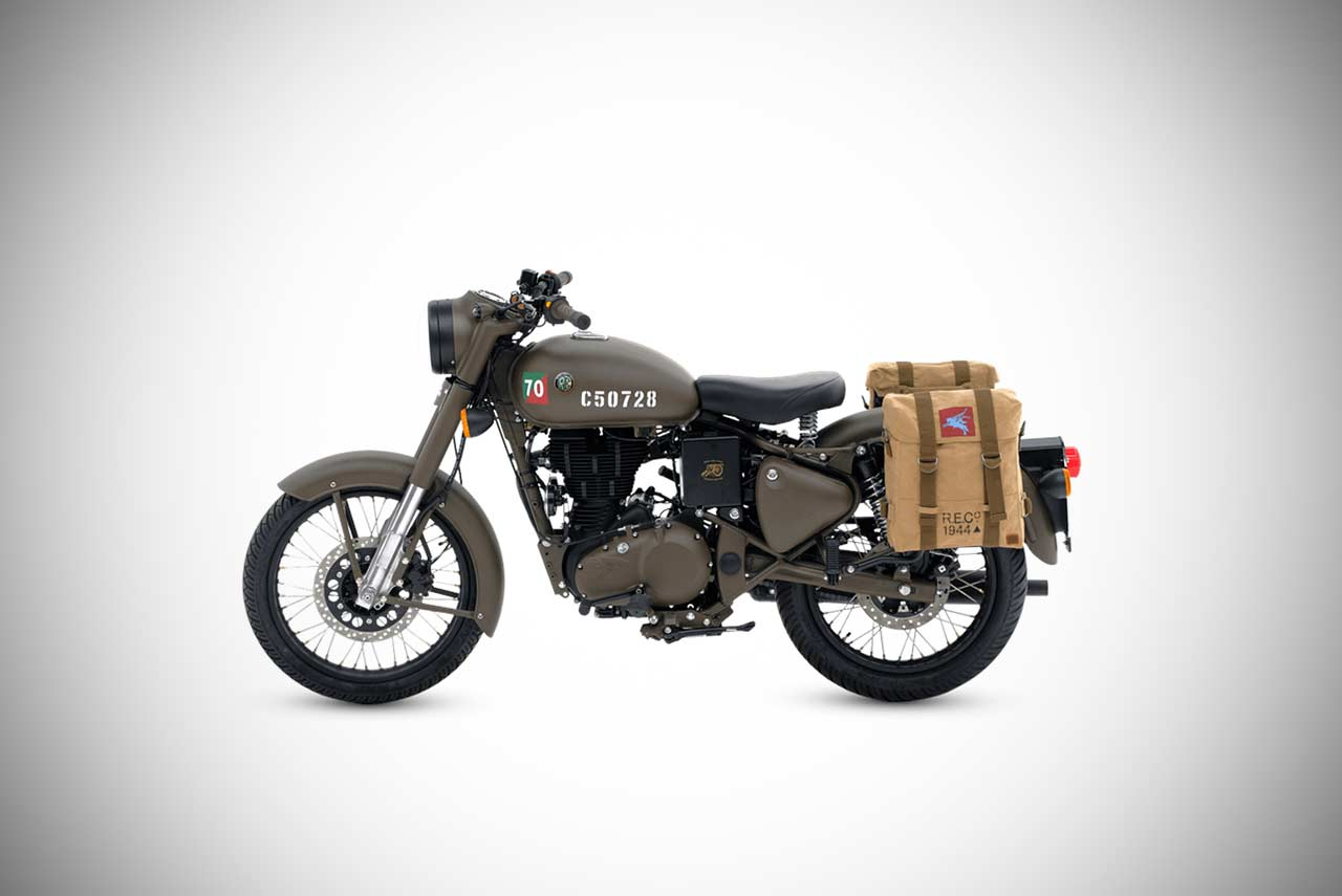 royal enfield classic 500 pegasus edition introduced. Black Bedroom Furniture Sets. Home Design Ideas