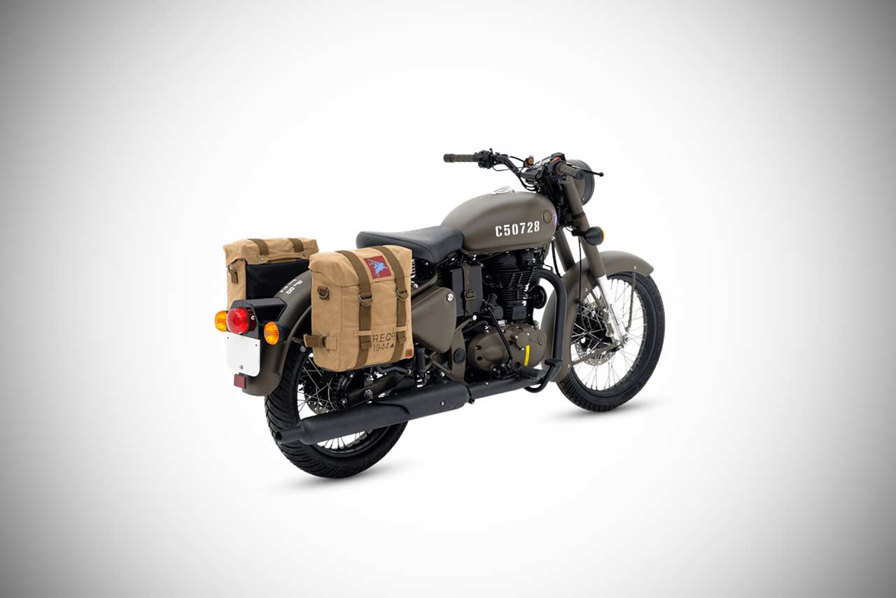 Royal Enfield Classic 500 Pegasus Edition Introduced ...