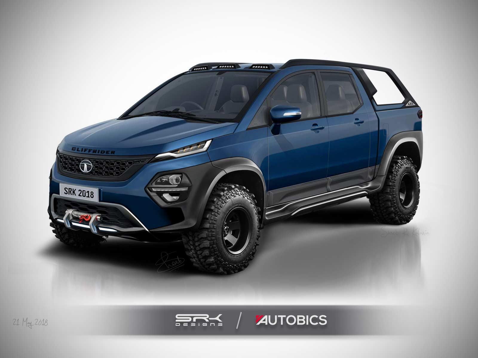 Tata Hexa Cliffrider Concept Rendering 2018 Autobics