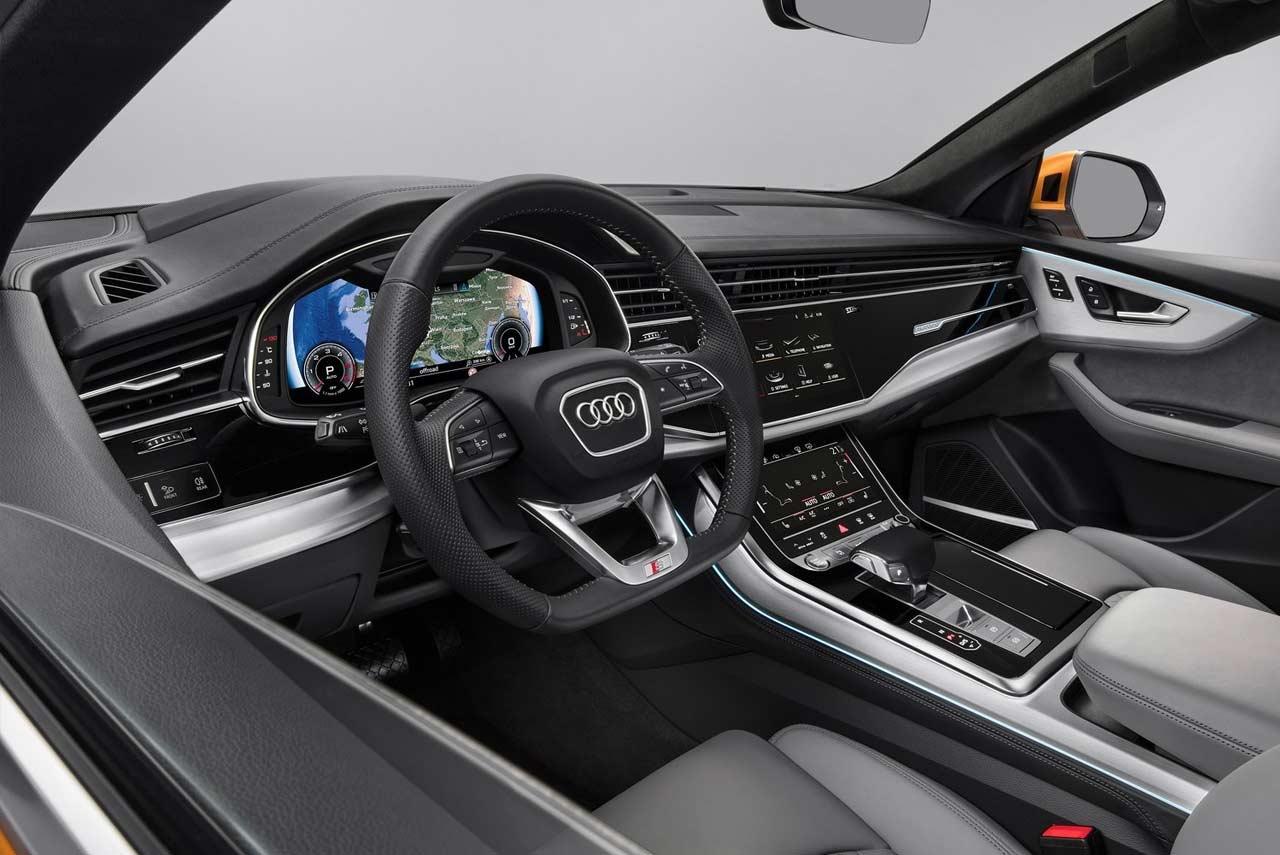 2018 Audi Q8 SUV Interior