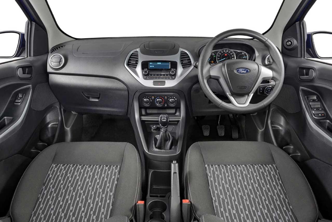 2018 Ford Figo Sedan Trend Interior South Africa   AUTOBICS