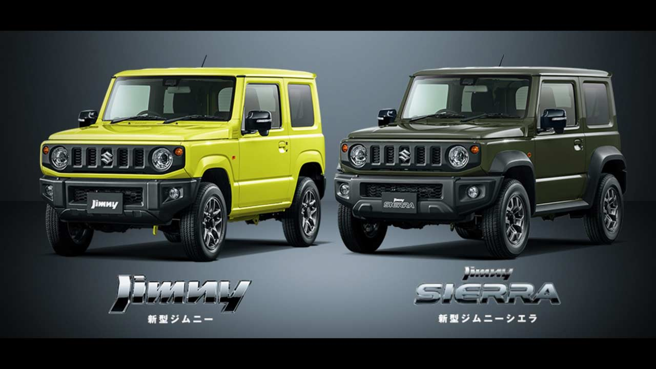 Jeep New Version >> 2018 Suzuki Jimny and Jimny Sierra | AUTOBICS