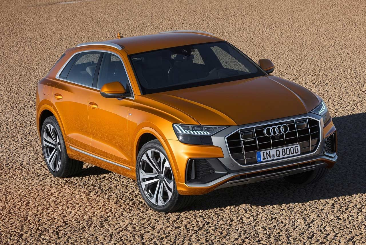 2019 audi q8 suv dragon orange autobics. Black Bedroom Furniture Sets. Home Design Ideas