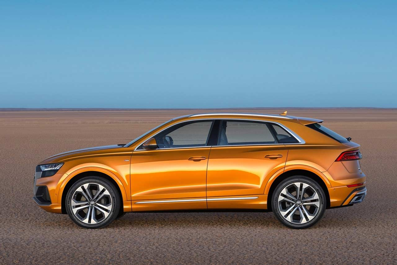 2019 audi q8 side dragon orange autobics. Black Bedroom Furniture Sets. Home Design Ideas