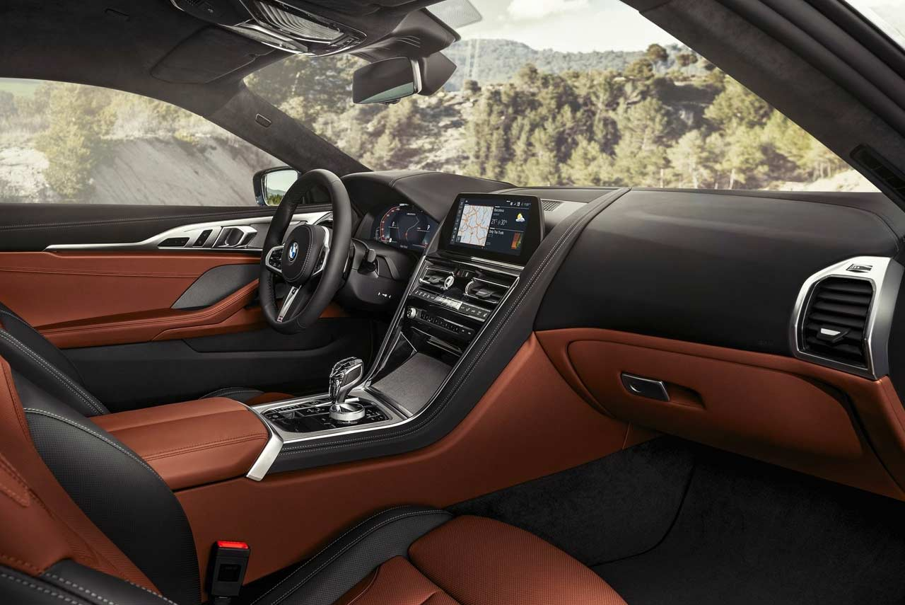 Bmw 8 Series Coupe Interior 2018 Autobics