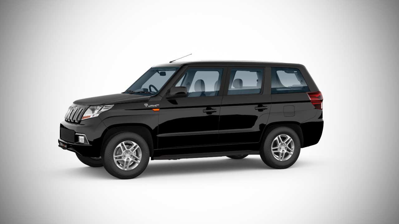 Mahindra Tuv300 Plus Bold Black 2018 Autobics