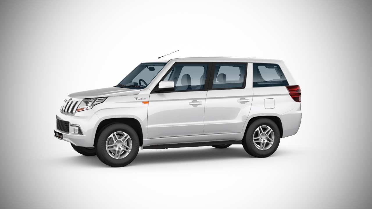 Mahindra Tuv300 Plus Glacier White 2018 Autobics