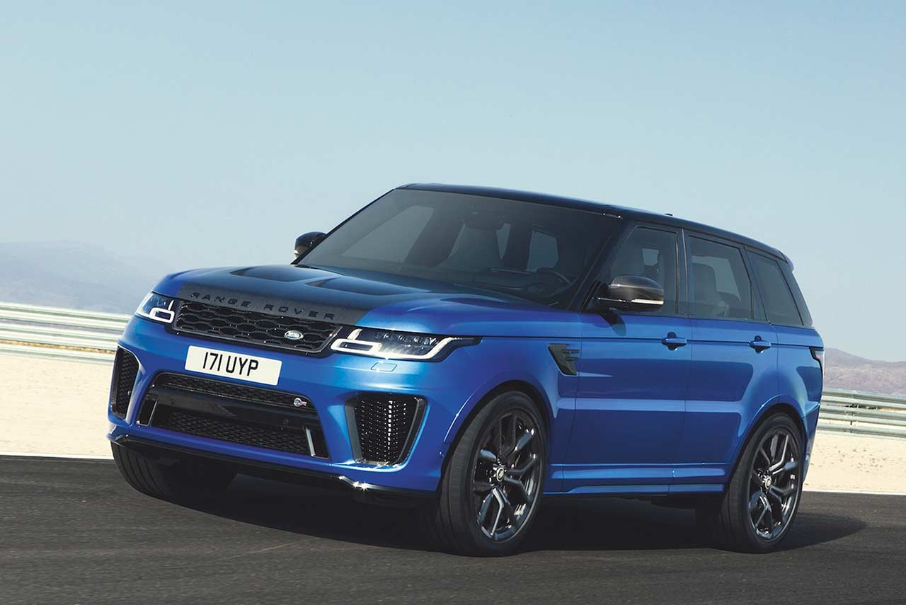 bookings of range rover sport svr range rover svautobiography open in india autobics. Black Bedroom Furniture Sets. Home Design Ideas