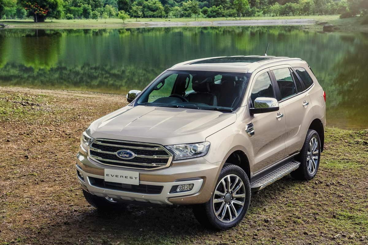 2019 Ford Everest (Endeavour) Launched In Thailand