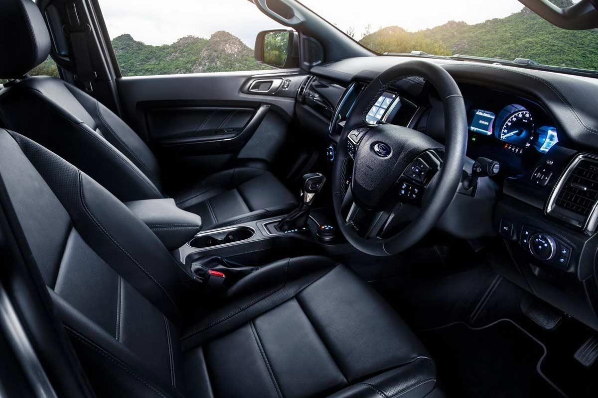 2019 Ford Everest Interior | AUTOBICS