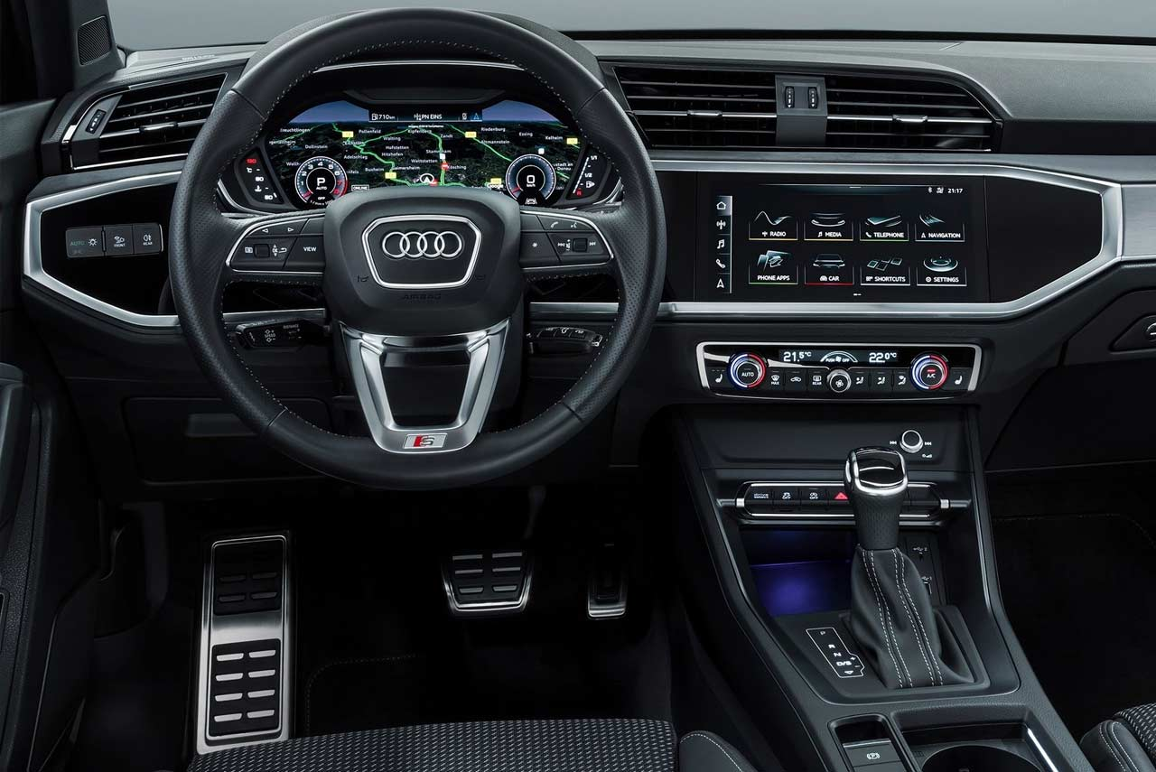 Audi Q3 S Line Interior 2019 Autobics